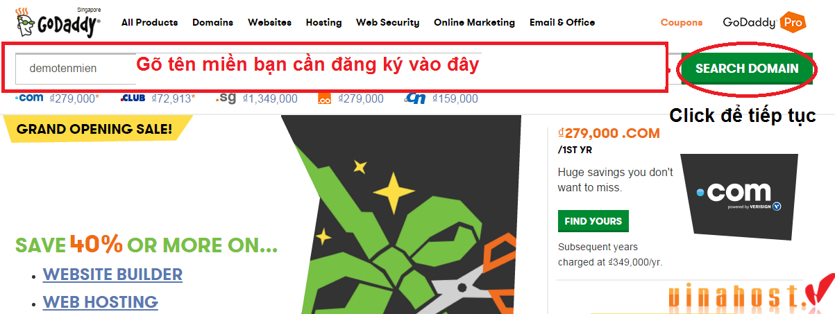 vinahost-how-to-BUY-DOMAIN-VIETNAM-with-Godaddy-1