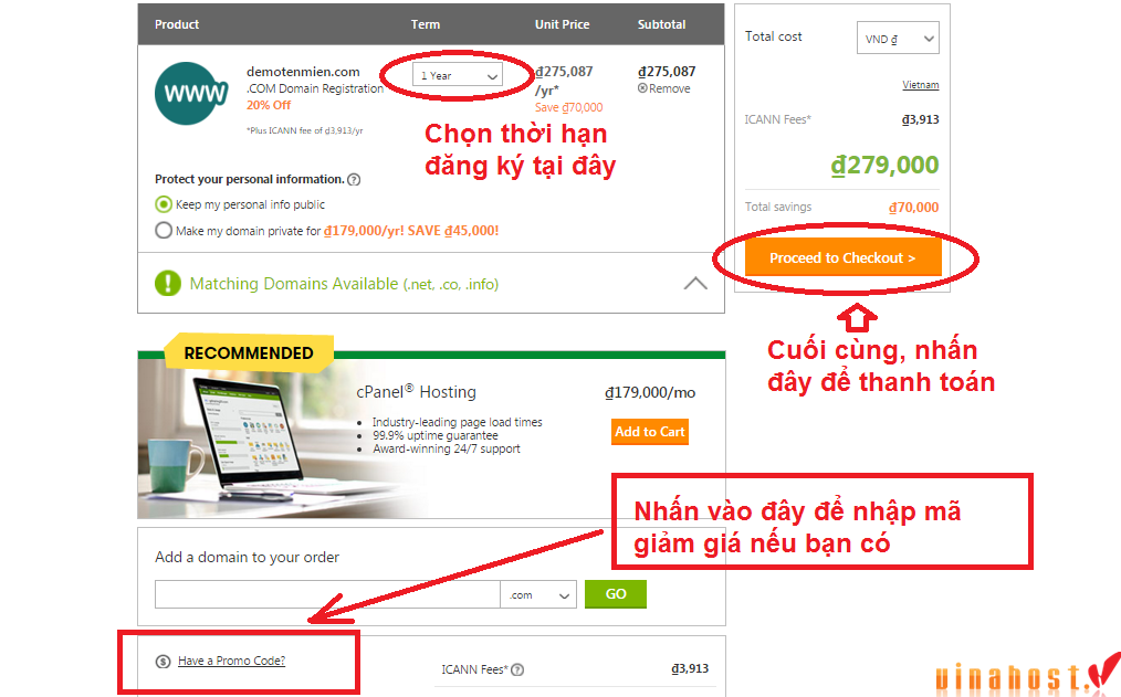 vinahost-how-to-BUY-DOMAIN-VIETNAM-with-Godaddy-5